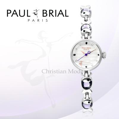 폴브리알(PAUL BRIAL) 여성시계 PB8012WSCB/팔찌