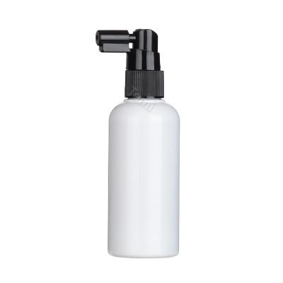 20pai 기역자미스트 검정펌프 150ml 원형무광백색용기