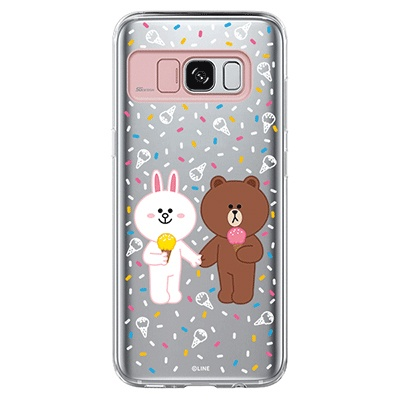 Galaxy S8/S8plus LINE FRIENDS ICE CREAM