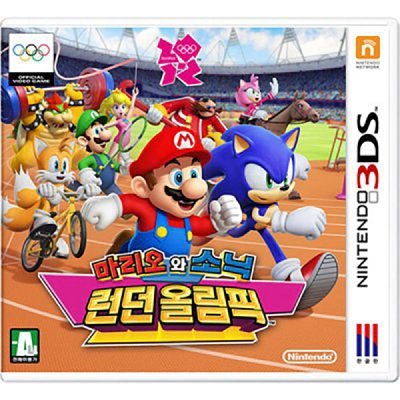 3DS 마리오와소닉 리우 올림픽 한글판