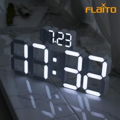 플라이토 국산 데이즈 3D LED 인테리어 벽시계 38cm