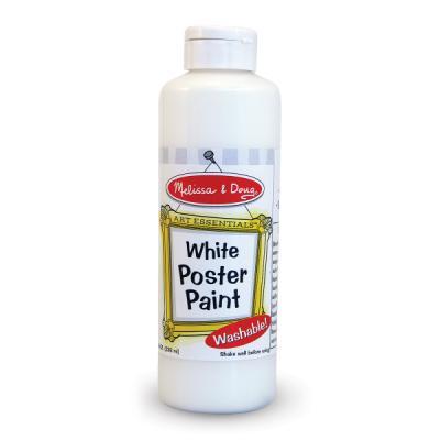 포스터 물감 230ml - 화이트