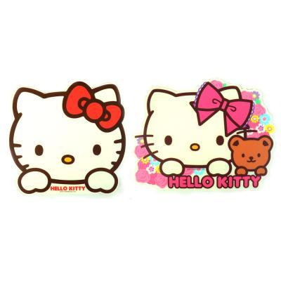 헬로키티 마우스 패드(레드,핑크)