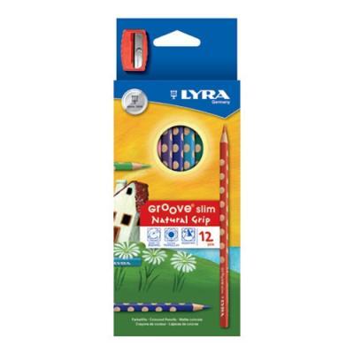그루브슬림색연필12색 (리라) (세트) 270351