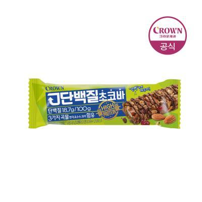 크라운 고단백질 초코바 32g