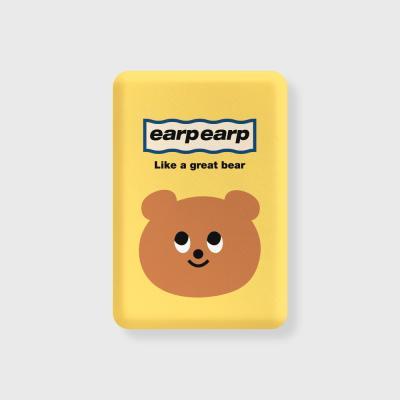 Eyes bear-yellow(무선충전보조배터리)