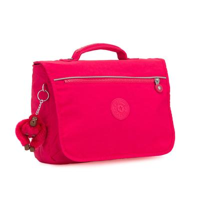 키플링 NEW SCHOOL Small schoolbag True Pink