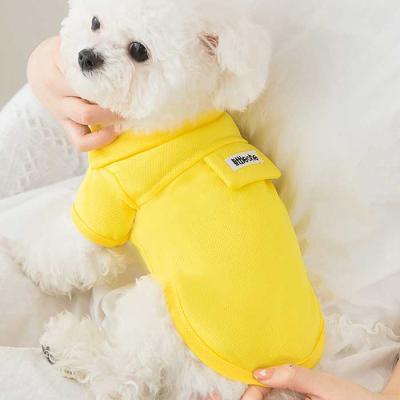 편안하고 기분좋은 애견 라이트 카라 티셔츠 3color