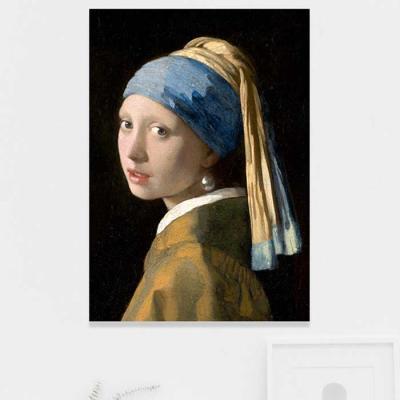 주문제작 액자 Vermeer Girl with a Pearl Earring