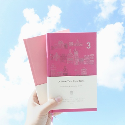 [3년일기장] A Three-Year Story Book (Pink Edition)