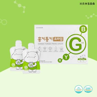 함소아 홍키통키 프라임 그린 15ml x 10포 x 3박스