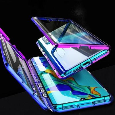 아이폰11 프로 맥스 전면풀커버 마그네틱 투명 케이스