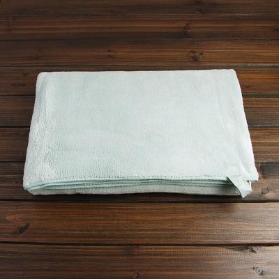 심플 극세사 대형타월(160cm)(민트)/목욕수건 비치타