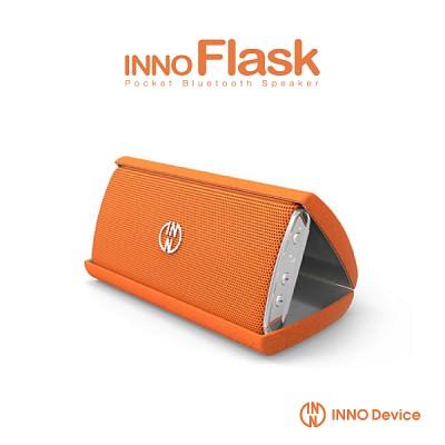 INNOFLASK 포켓사이즈 블루투스스피커 이노플라스크 / 오렌지
