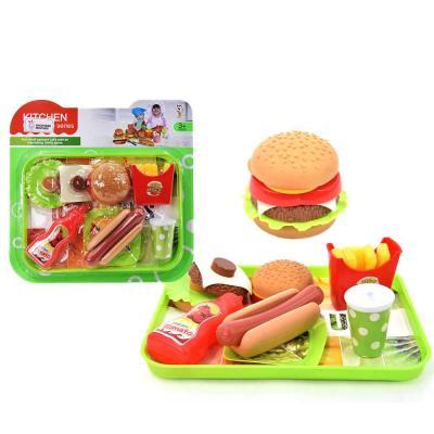 맥킨더 햄버거+음료수 주방 역할놀이