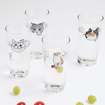 라씨에뜨 건방진 냥냥이 고양이 맥주잔 4p