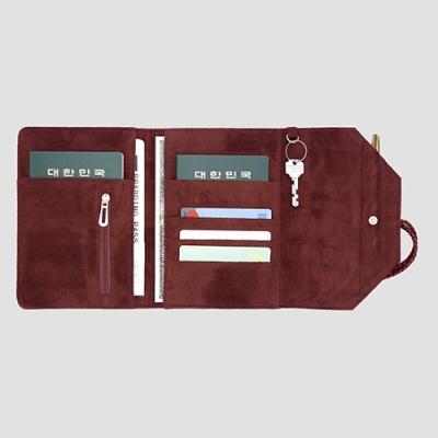 커플여권케이스지갑 컨트롤 트래블러 커플S