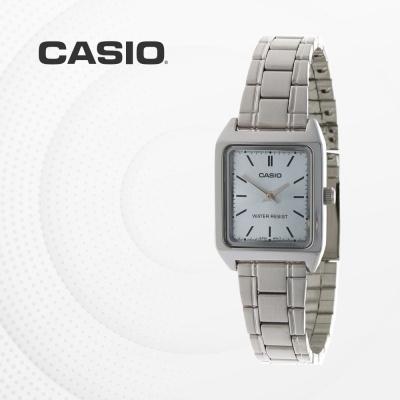 카시오 아날로그 메탈 여성 손목시계 LTP-V007D-2E