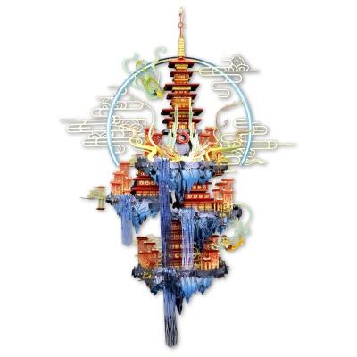 [3D퍼즐마을][MU] YM-N095III 천국의 도시