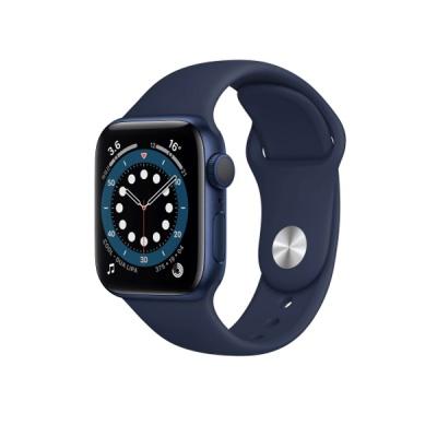 [애플] 애플워치6, 40mm, 블루알루미늄케이스