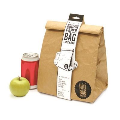[원더스토어]럭키스 직장인 런치박스 Brown Paper Bag