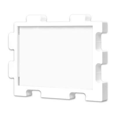 퍼즐액자 10x14.7 고급형 연결액자 화이트