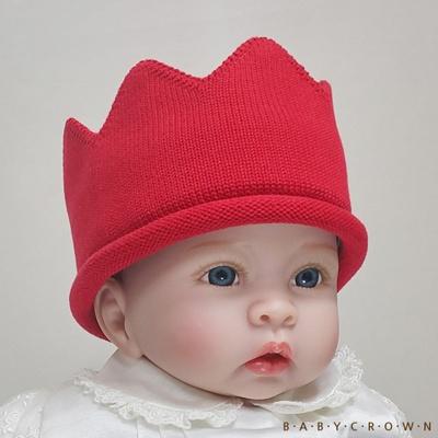 [Baby Crown] 베이비크라운 아기왕관 모자 큐티 (토마토)