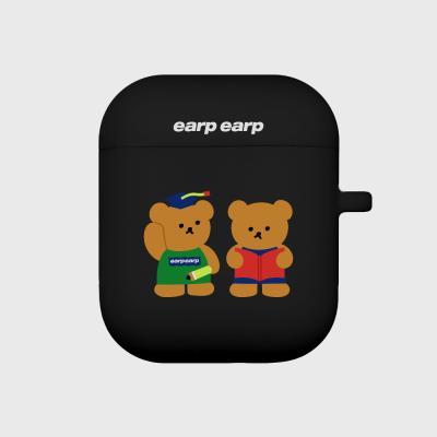 Smart bear friends-black(Air pods)