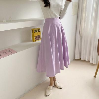 Spring Swing Long Skirt