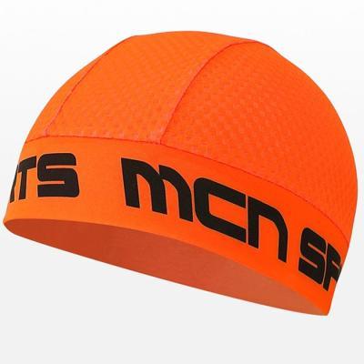 헬멧안에 착용하는 MESH SKULL CAP 형광 오렌지
