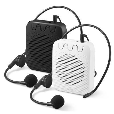 엑토 강의용 수업용 휴대용 무선 마이크 앰프 MIC-16