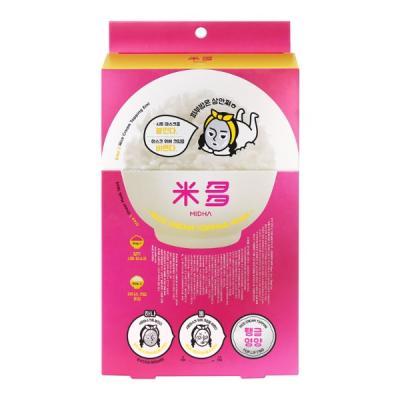 미다 [탱글영양] 쌀 크림 토핑 마스크 5매