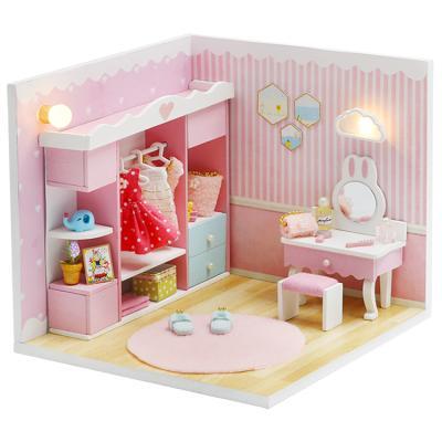 DIY 미니어처하우스 미니타운 드레스룸