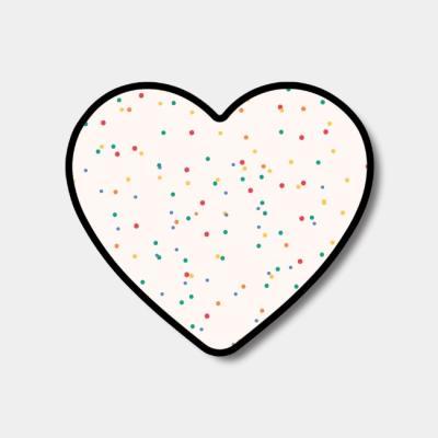 [하트톡♥] 레인보우 샌드 패턴
