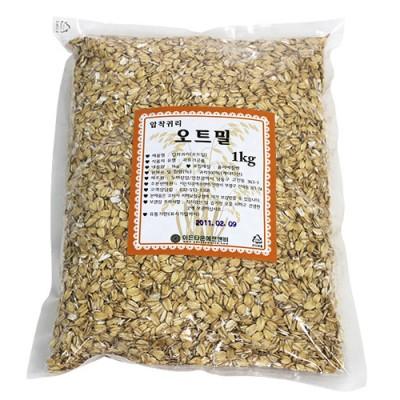 오트밀(1kg)-타임지가 선정한 세계10대푸드