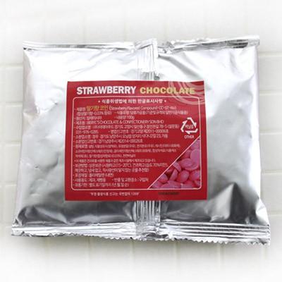 초콜릿-딸기 100g
