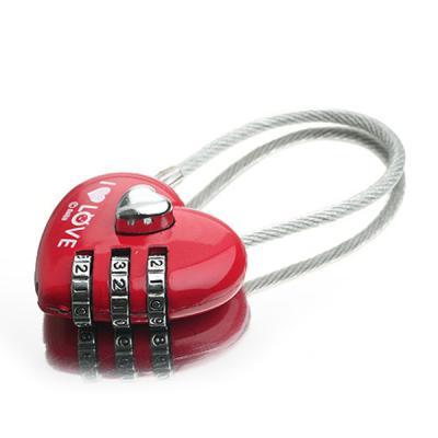 [트래블이지]자물쇠 하트형 NO.0310