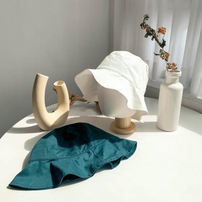 [2color]블루그린 데일리 버킷햇 벙거지 모자