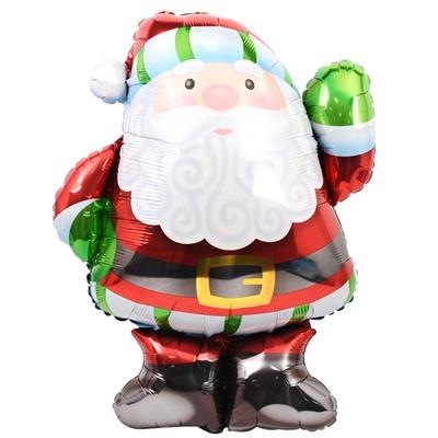 크리스마스 은박풍선 슈퍼쉐입 - 산타할아버지