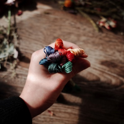 감성 프랑스자수실 큐레이션 - 오리엔탈빈티지 10색