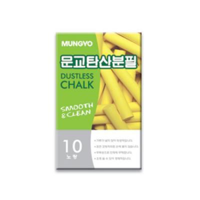문교탄산분필(노랑색) 146126
