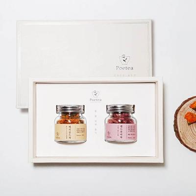 [포이티] 메리골드차 맨드라미차 꽃차선물세트