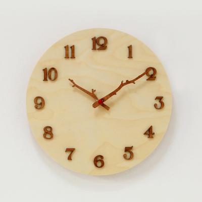 (khyn013)저소음 자작나무 시계 (나무가지)