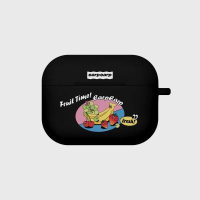 Fruit time-black(Air pods pro case)
