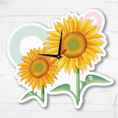 nz089-인테리어벽시계_해바라기꽃