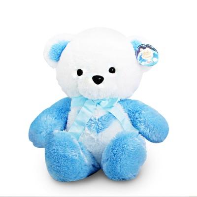 한울토이 반달곰인형 블루-소(30cm)