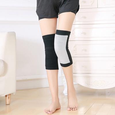 2p 스판덱스 방한 무릎보호대(블랙)(XL)