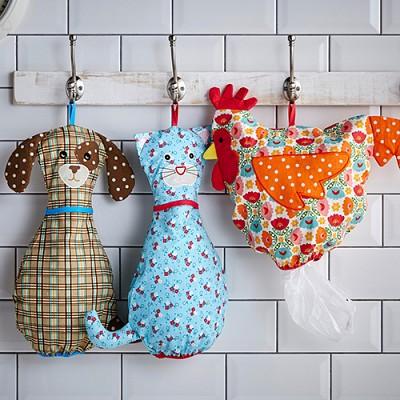 [울스터위버스] Bag Saver ( 닭, 강아지, 고양이)