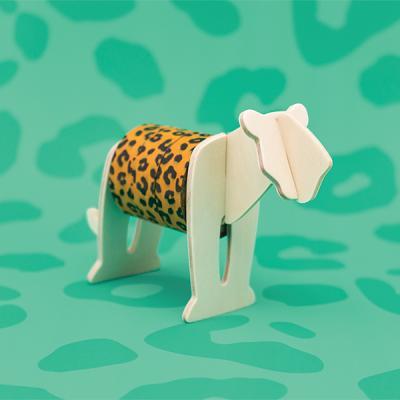 [원더스토어] 럭키스 동물 마스킹 테이프 표범