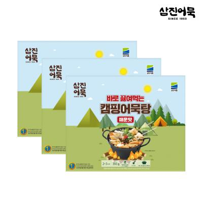 [삼진어묵] 캠핑어묵탕 (매운맛) x 3개
